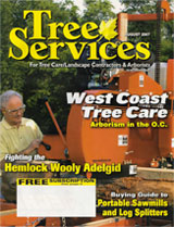 Pacific Coast Arborists & Consultants in Tree Services Magazine
